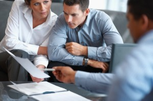 md purchased istock financial plannning meeting